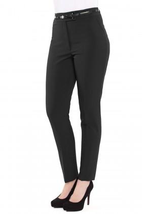 Pantalon casual P 100 negru