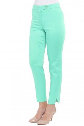 Pantalon casual P 103 verde1