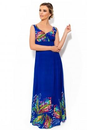 Rochie R 577 albastra