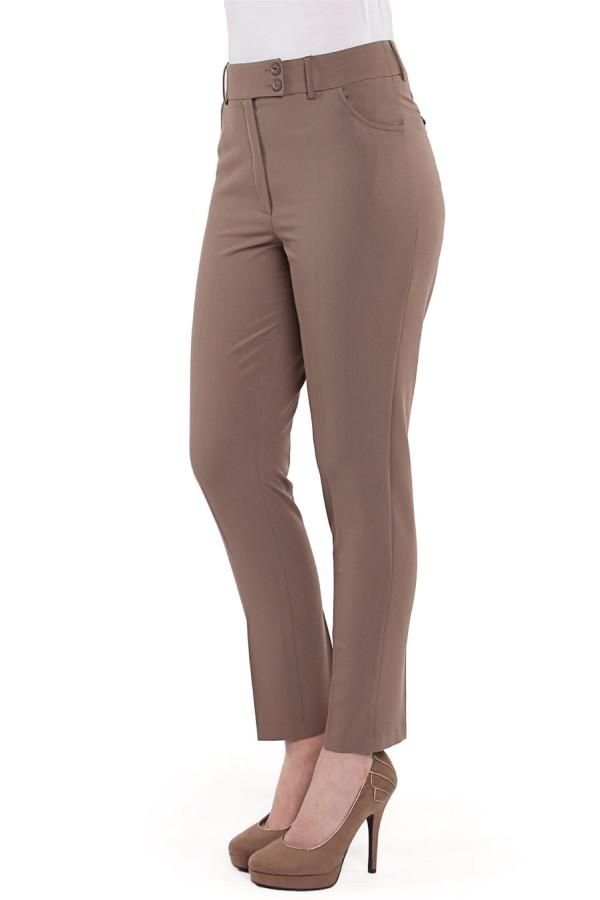 Pantalon casual P 099 maro
