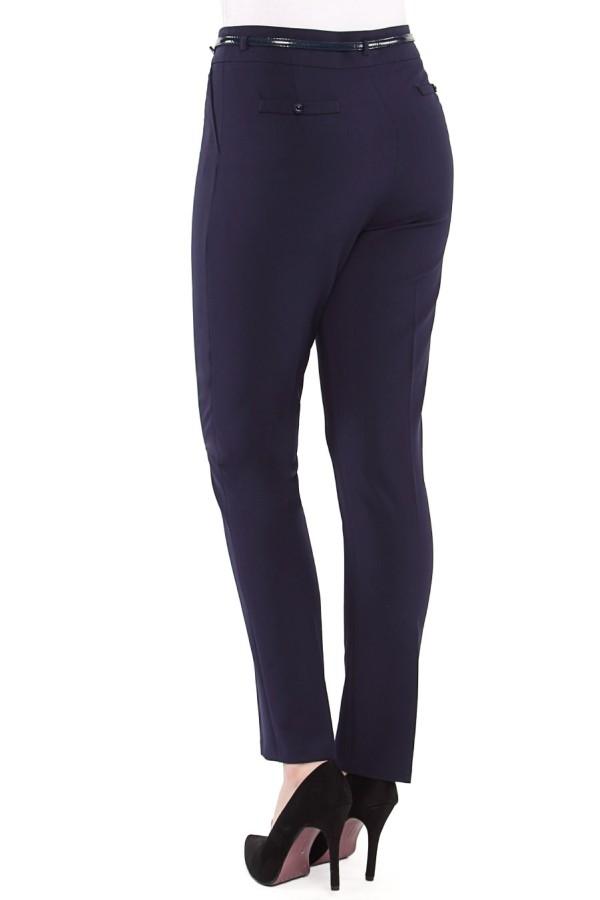 Pantalon casual P 100 bleumarin