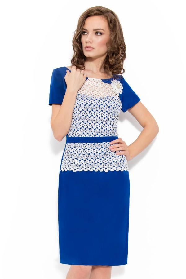 Rochie R 561 albastra