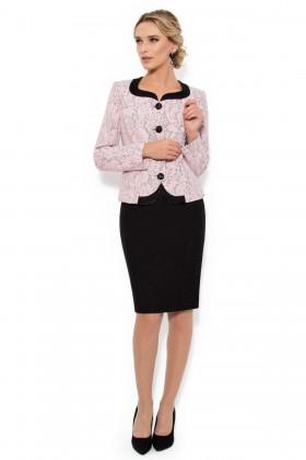 Costum cu fusta 1418 roz