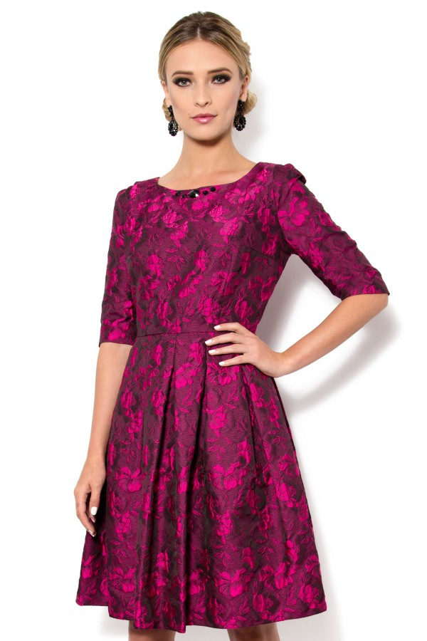 Rochie R 856 ciclam