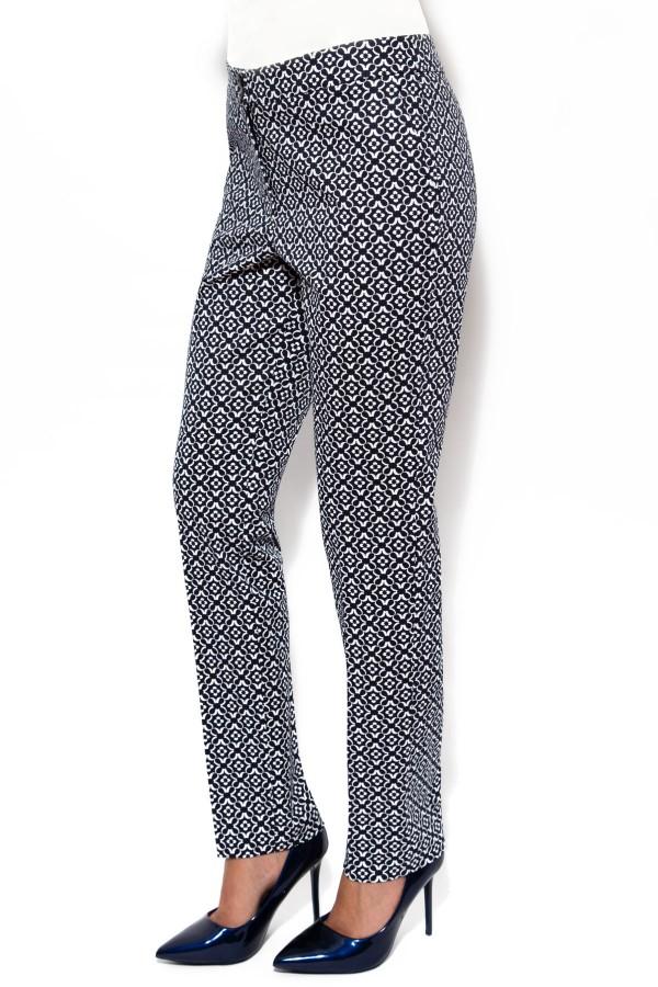Pantalon casual P 105 bleumarin