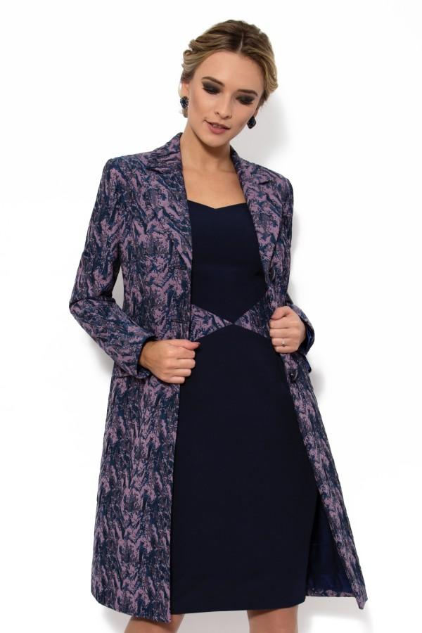 Pardesiu cu rochie 7710 lila