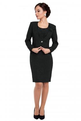 Costum cu rochie 9245 negru