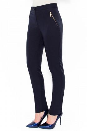 Pantalon casual P 106 bleumarin