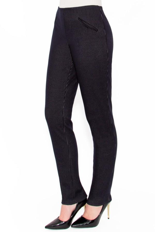 Pantalon casual P 114 bleumarin