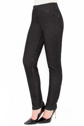 Pantalon casual P 114 negru