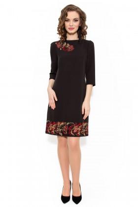 Rochie eleganta R 979 negru