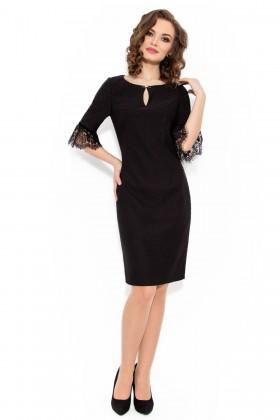 Rochie eleganta R 975 negru