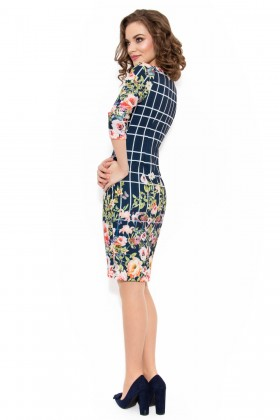 Rochie casual R 911 model floral