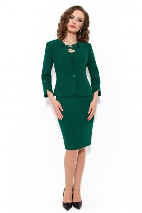 Costum cu rochie 9339 verde