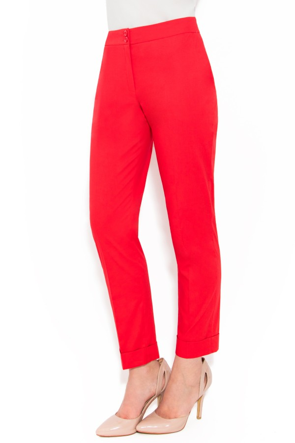 Pantalon casual P 104 rosu