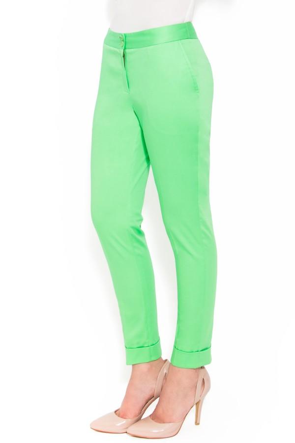 Pantalon casual P 104 verde