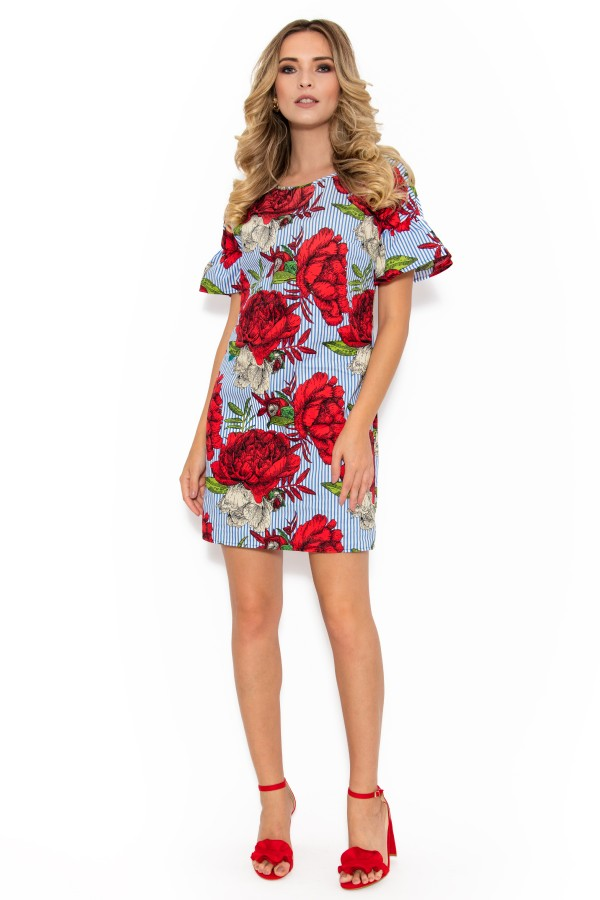 Rochie casual R 029 bumbac