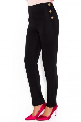 Pantalon casual P 116 negru