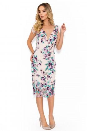 Rochie de ocazie R 041 lila