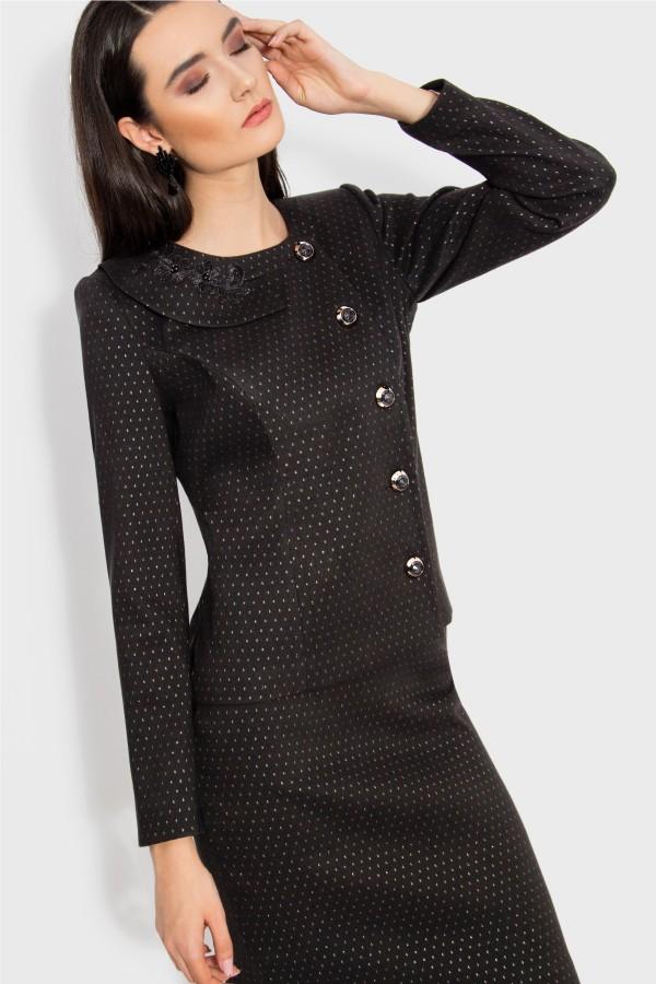 Costum cu fusta 1445 negru