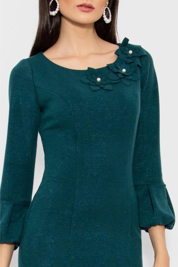 Rochie casual R 063 verde