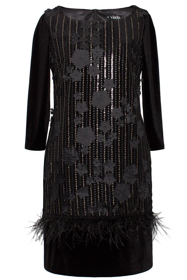 Rochie eleganta R 081 negru