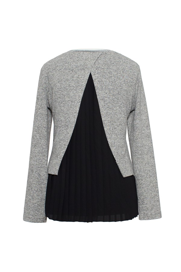 Bluza casual B 159 gri