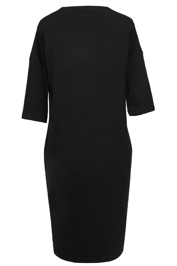 Rochie casual R 265 negru