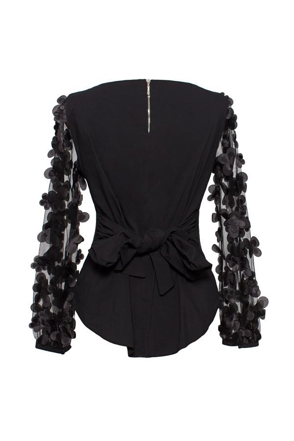 Bluza eleganta B 192 negru