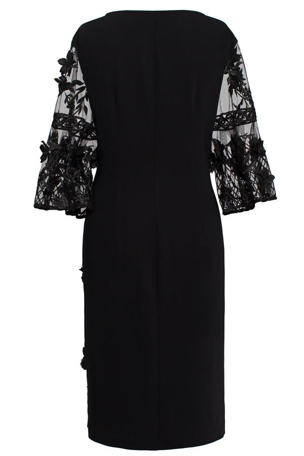 Rochie eleganta R 387 negru