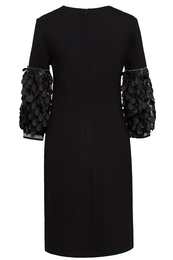 Rochie casual R 285 negru