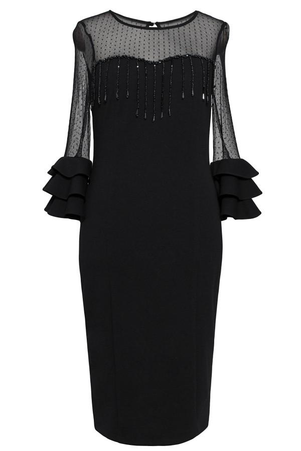 Rochie eleganta R 295 negru