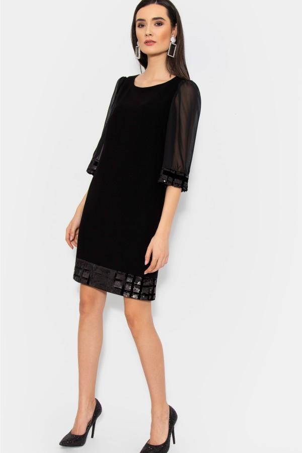 Rochie eleganta R 042 negru