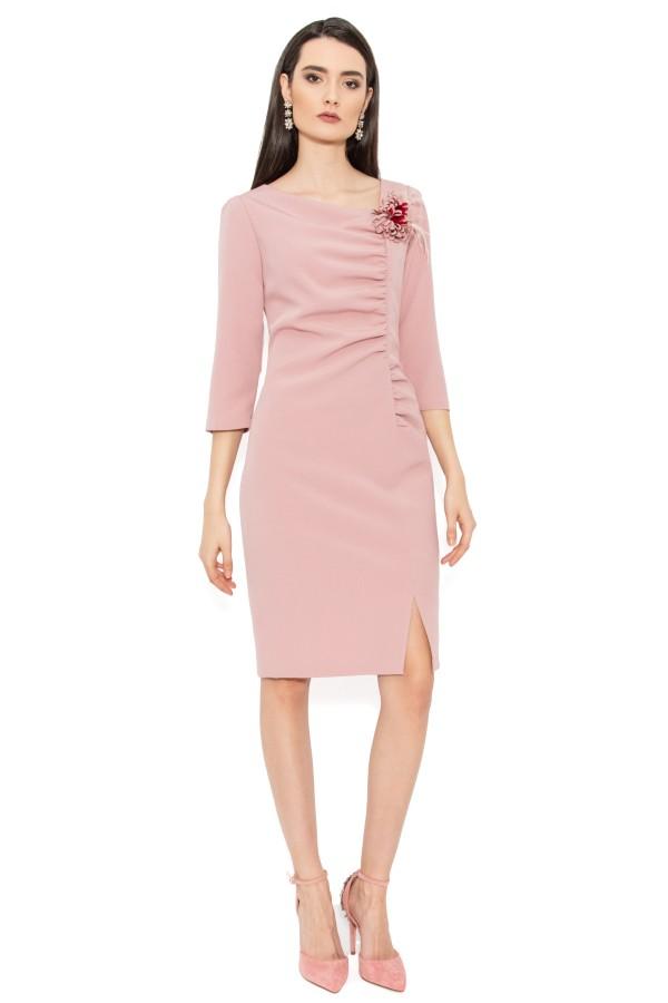 Rochie eleganta R 121 roz