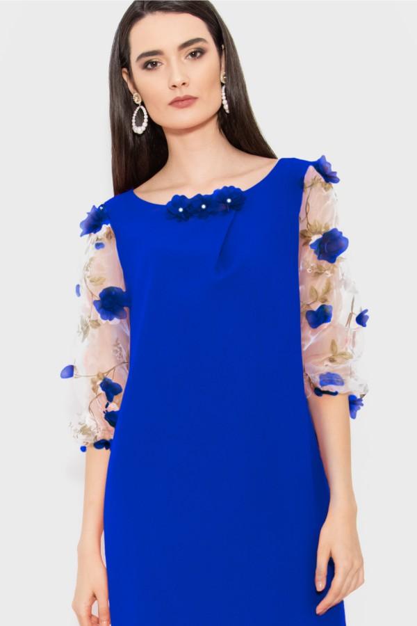Rochie R 110 albastru