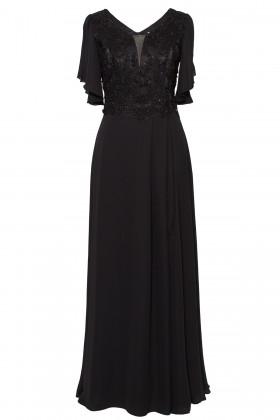 Rochie lunga R 150 negru