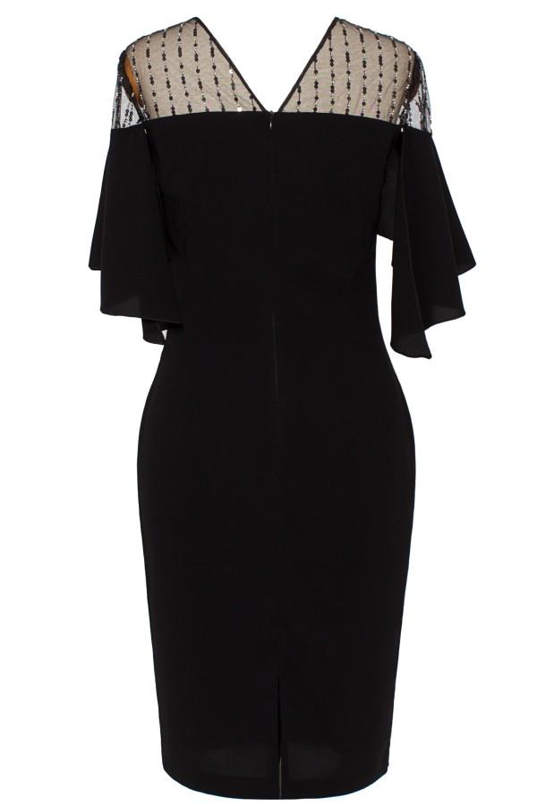 Rochie eleganta R 160 negru