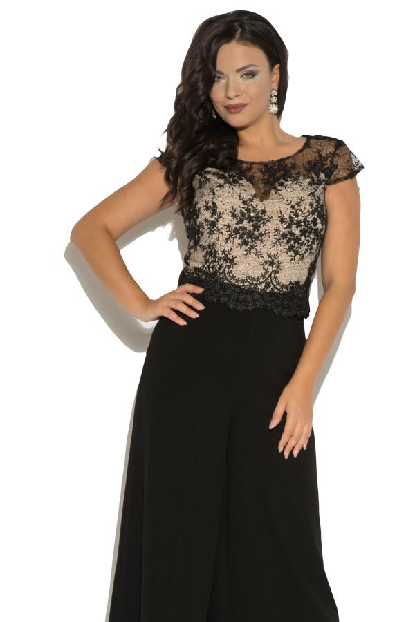 Salopeta eleganta 2306 negru