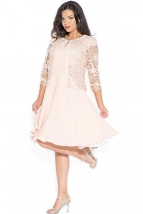 Costum cu rochie 9378 frez