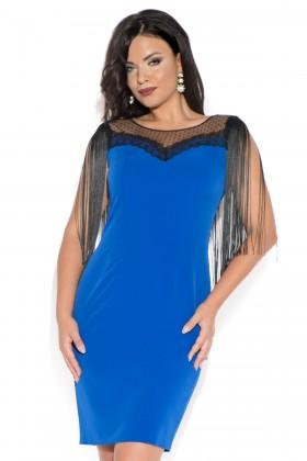 Rochie R 179 albastru