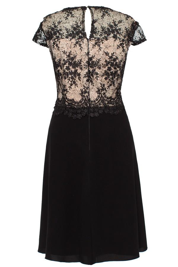 Rochie eleganta R 169 negru