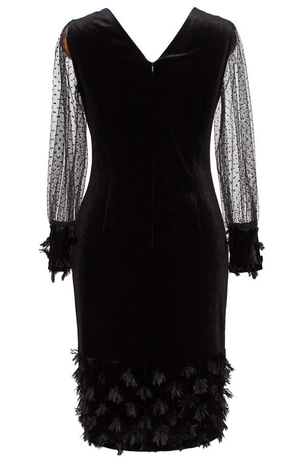 Rochie eleganta R 062 negru