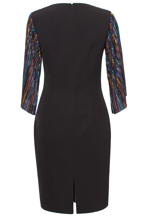 Rochie eleganta R 238 negru