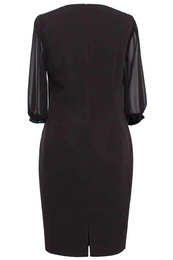 Rochie eleganta R 239 negru