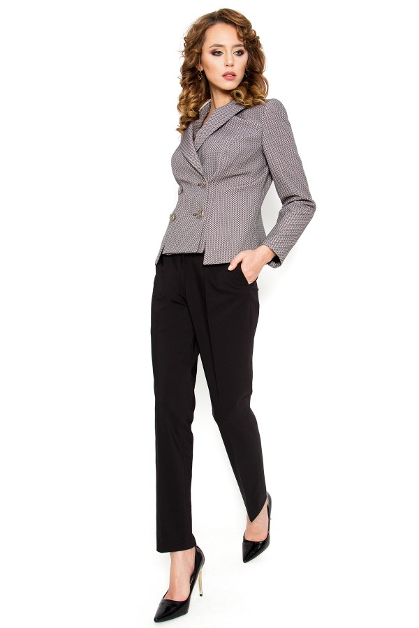 Costum cu pantalon 2310 negru