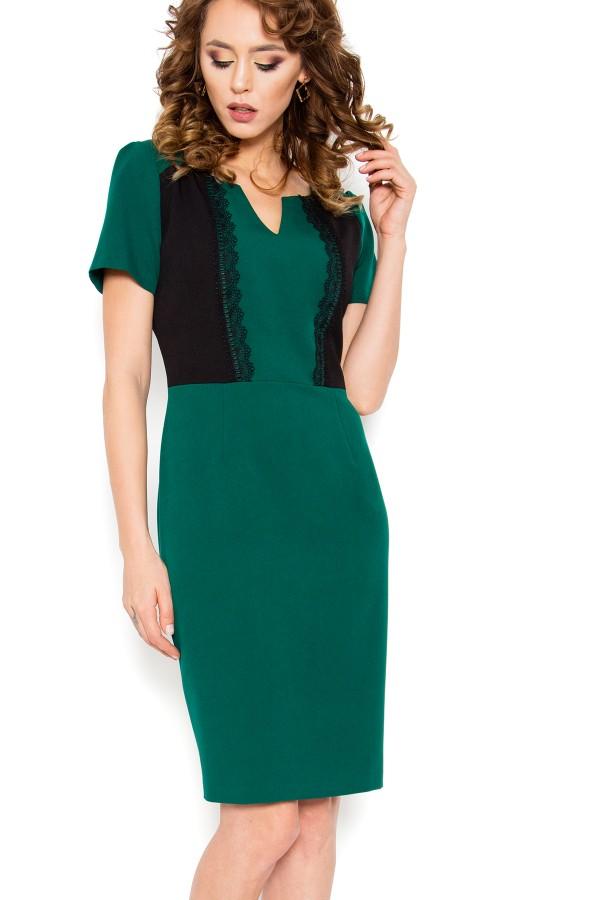 Costum cu rochie 9401 verde