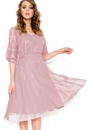Rochie eleganta R 299 roz