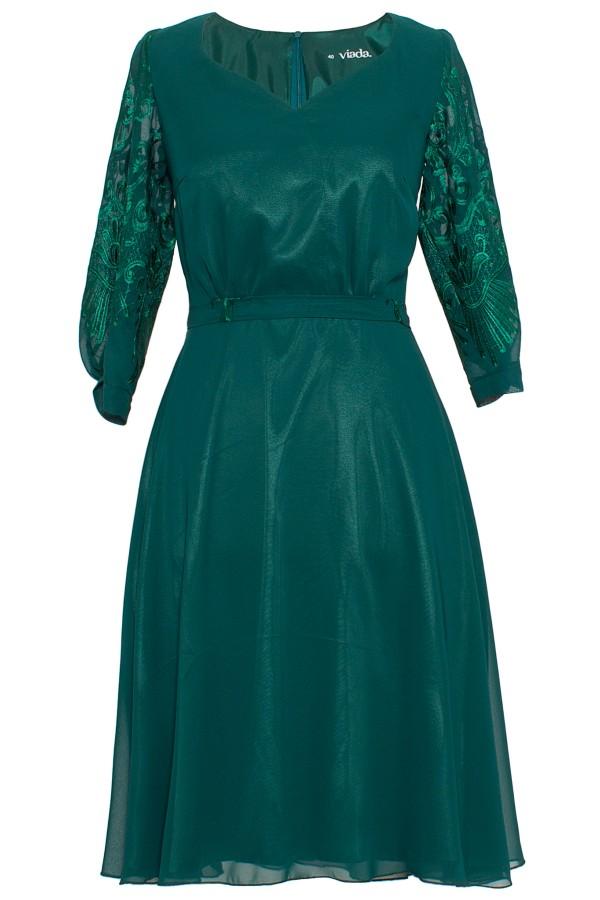 Rochie elegant R 299 verde
