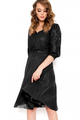 Rochie eleganta R 299 negru
