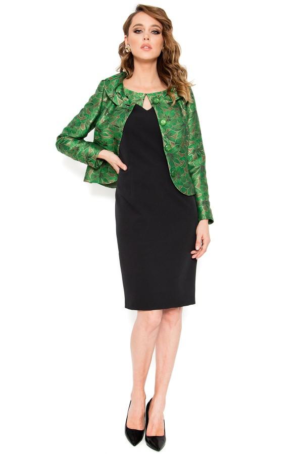 Costum cu rochie 9389 verde